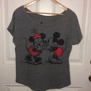 Mickey and Minnie shirt